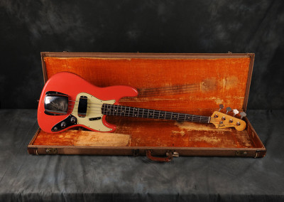 Fender 1961Fiesta Red Stack-knob Rare Color