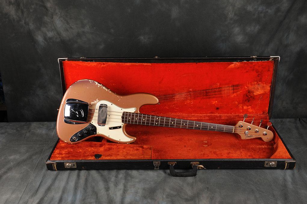 Fender 1965 Burgundy Mist