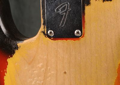 Fender Bass 1965 October Sunburst (4)