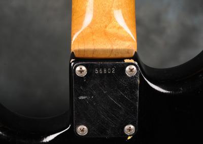Fender Stratocaster 1961 Black (9)