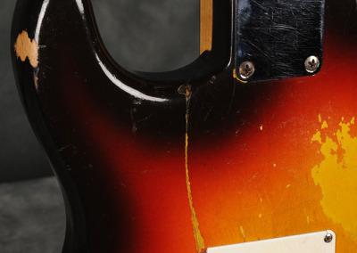 Fender Stratocaster 1961 Sunburst (7)