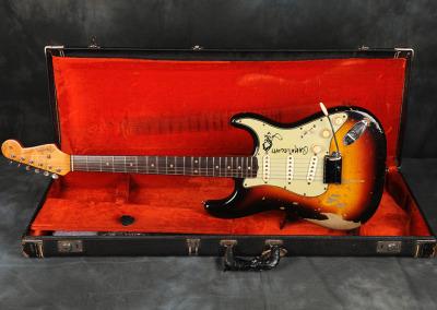 Fender Stratocaster 1963 Sunburst 1