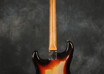 Fender Stratocaster 1963 Sunburst 1 (9)