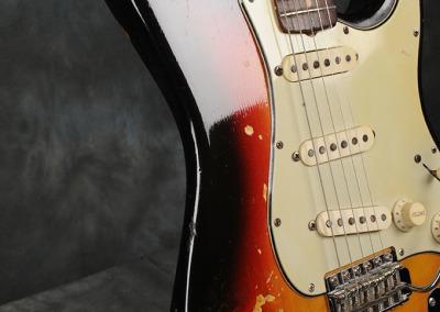 Fender Stratocaster 1963 Sunburst 2 (4)