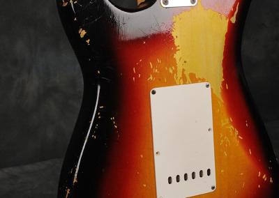 Fender Stratocaster 1963 Sunburst 3 (10)