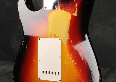 Fender Stratocaster 1963 Sunburst 3 (11)