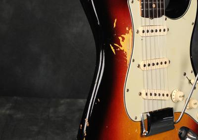 Fender Stratocaster 1963 Sunburst 3 (3)