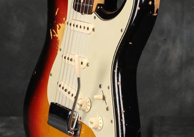 Fender Stratocaster 1963 Sunburst 3 (4)