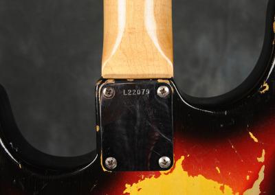 Fender Stratocaster 1963 Sunburst 3 (8)
