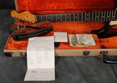 Fender Stratocaster 1963 Sunburst 4 (18)