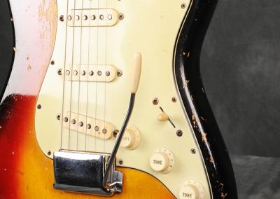 Fender Stratocaster 1963 Sunburst 4 (4)