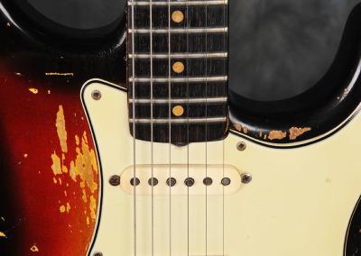 Fender Stratocaster 1963 Sunburst 4 (5)