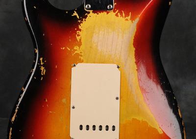 Fender Stratocaster 1963 Sunburst 4 (8)