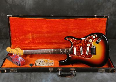 Fender Stratocaster 1964 Sunburst 5 (12)