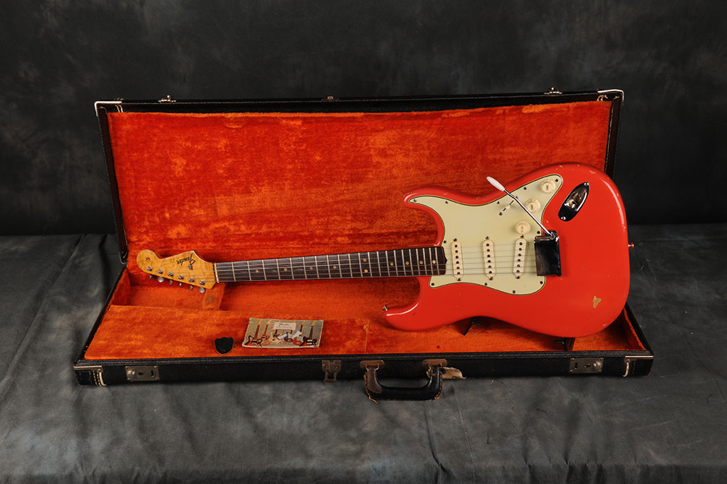 1965 Fender Stratocaster Fiesta Red W\Tags
