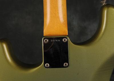 Fender Stratocaster 1965 Green (5)
