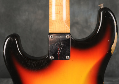 Fender Stratocaster 1966 Sunburst 2 (6)