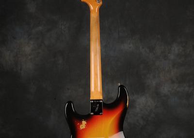 Fender Stratocaster 1966 Sunburst 4 (4)