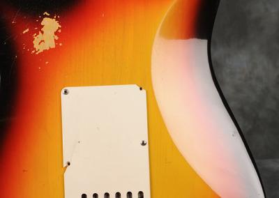 Fender Stratocaster 1966 Sunburst 4 (5)