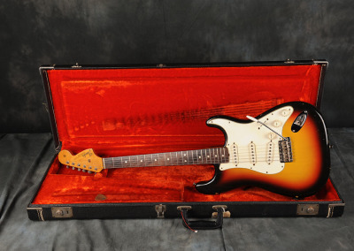 1966 Fender Stratocaster Sunburst (5)