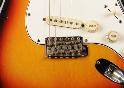 Fender Stratocaster 1966 Sunburst 6 (9)
