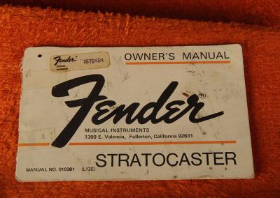 Fender Stratocaster 1970 Ow (10)