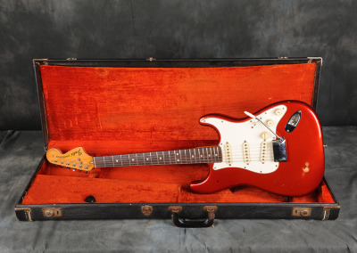 1973 Fender Stratocaster Candy Apple Red