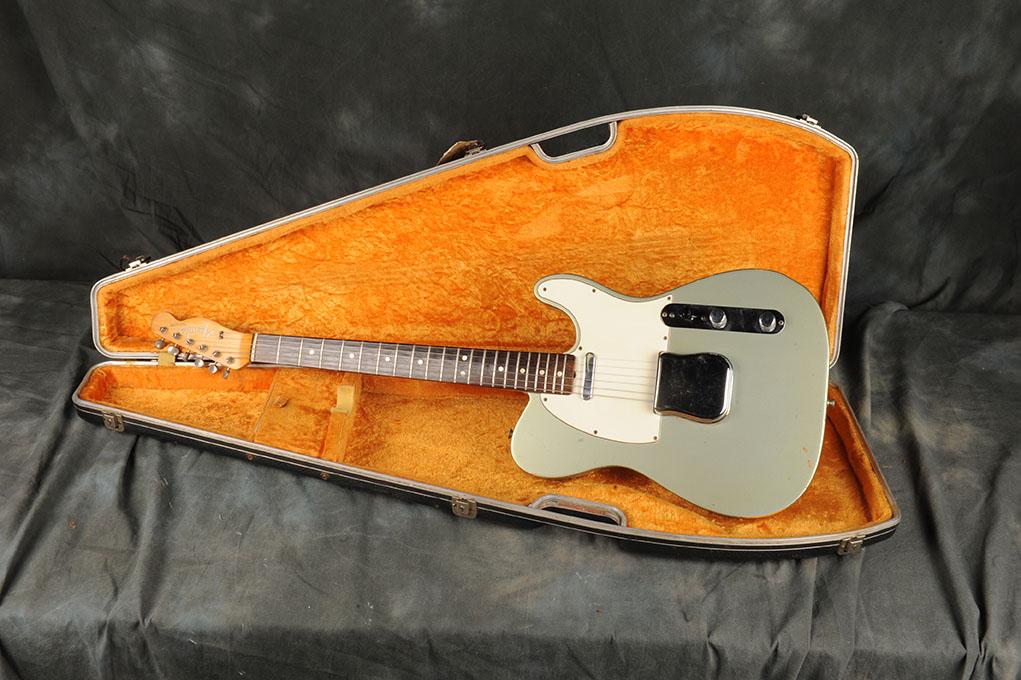 Fender Telecaster 1965 Inca Silver Metallic