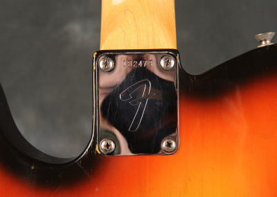 Fender Telecaster 1966 Sunburst (3)