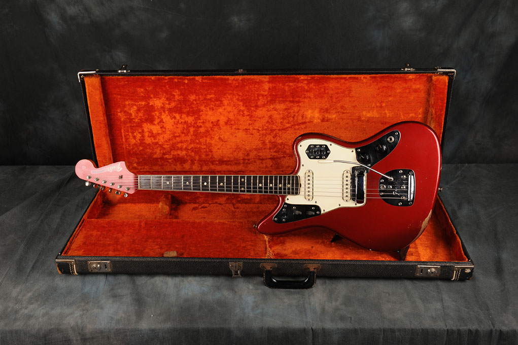 1965 Fender Jaguar Candy Apple Red