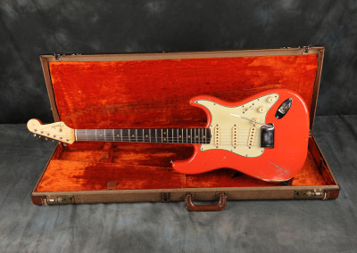 "1963 Fender Stratocaster Dakota Red ""Hank Marvin"""