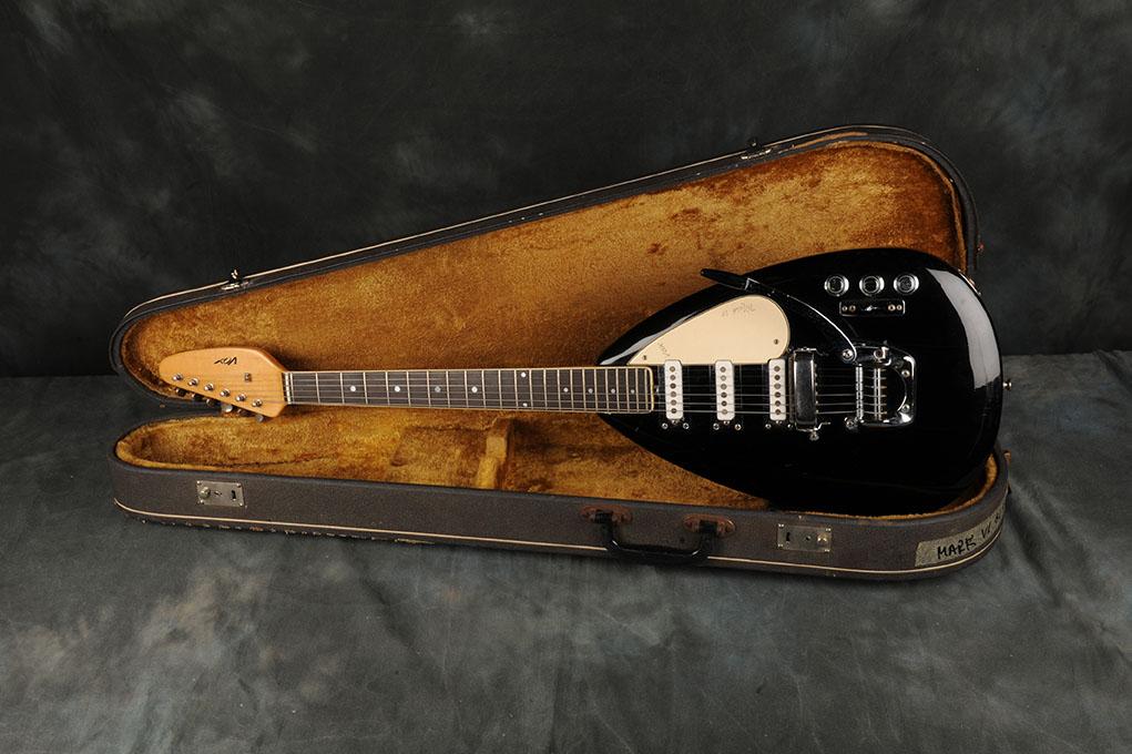 1966 Vox Mark VI Black