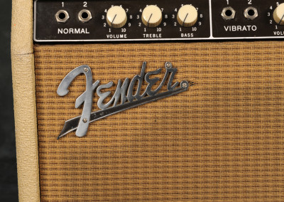 1961 Fender Twin-Amps (2)