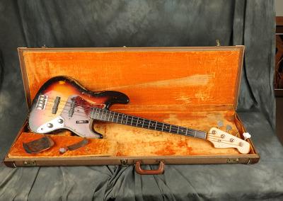 Fender 1961 Sunbust Stack-knob