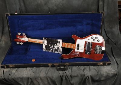 Rickenbacker Bass 1974 Burgundy Finish – Roger Glover Deep Purple
