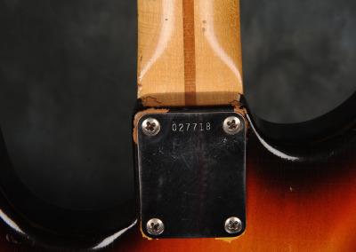 Fender Stratocaster 1958 Sunburst  (12)