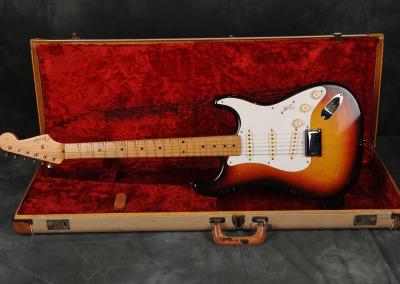 1958 Fender Stratocaster Sunburst no-tremolo