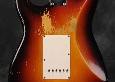 Fender Stratocaster 1959 Sunburst 1 (8)