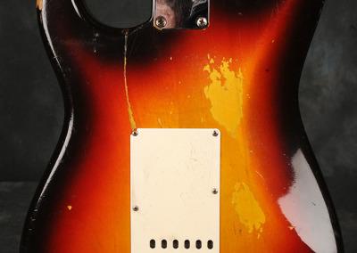 Fender Stratocaster 1961 Sunburst (6)