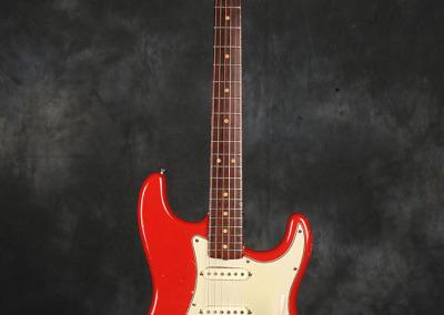 Fender Stratocaster 1963 Dakota red (1)