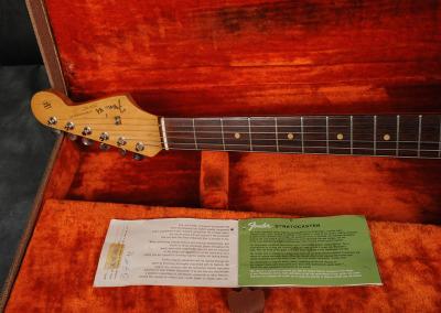 Fender Stratocaster 1963 Dakota red (16)