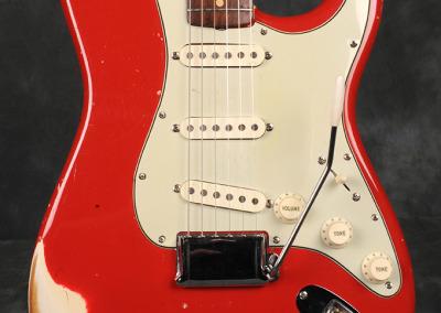 Fender Stratocaster 1963 Dakota red (2)