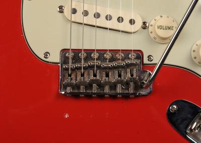Fender Stratocaster 1963 Dakota red (4)