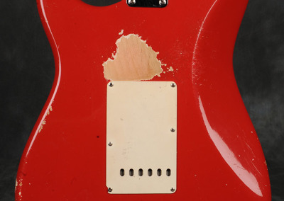 Fender Stratocaster 1963 Dakota red (7)