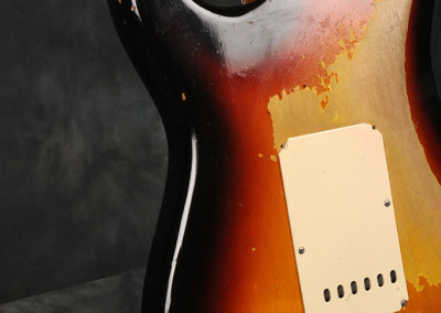 Fender Stratocaster 1963 Sunburst 1 (10)