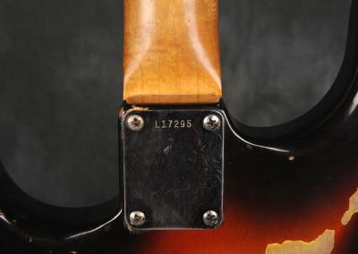 Fender Stratocaster 1963 Sunburst 1 (12)