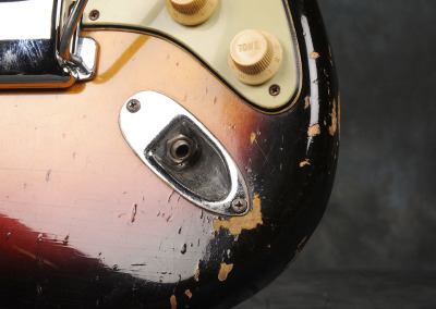 Fender Stratocaster 1963 Sunburst 1 (5)