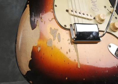 Fender Stratocaster 1963 Sunburst 1 (6)