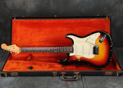 1963 Fender Stratocaster Sunburst (3)