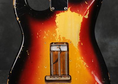 Fender Stratocaster 1963 Sunburst 3 (6)